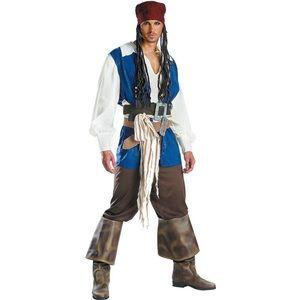 SOLD!  Disguise Disney JackSparrow pirate costume